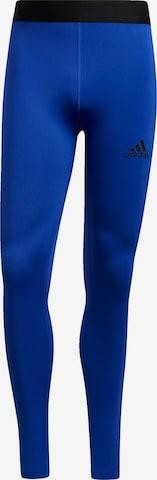 Pantalon de sport ADIDAS PERFORMANCE en bleu
