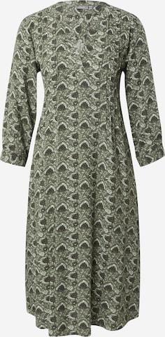 Fransa Dress 'BALEAF' in Green