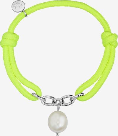 Glanzstücke München Modeschmuck-Armband in weiß, Produktansicht