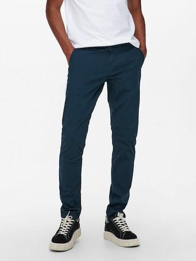 Only & Sons Chinosy w kolorze ciemny niebieskim, Podgląd na modelu(-ce)