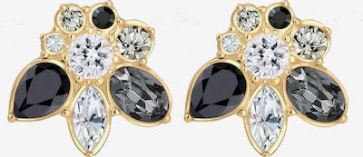 ELLI PREMIUM Kolczyki 'Kristall' w kolorze złoty / czarny / srebrnym, Podgląd produktu
