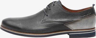 Van Lier Chaussure à lacets en gris, Vue avec produit