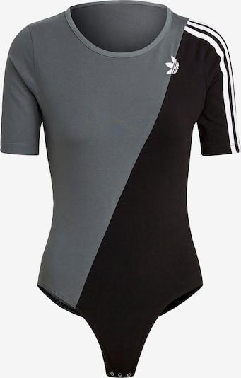 ADIDAS ORIGINALS Body ' adicolor' in grau / schwarz / weiß, Produktansicht