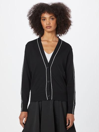Calvin Klein Kardigan - černá / bílá, Model/ka