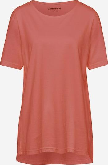 Green Cotton Shirt in de kleur Koraal / Pink, Productweergave
