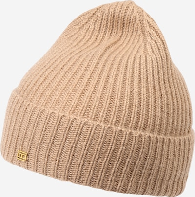 Megzta kepurė iš TOMMY HILFIGER, spalva – gelsvai pilka spalva, Prekių apžvalga