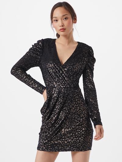 Dorothy Perkins Kleid in silbergrau / schwarz, Modelansicht