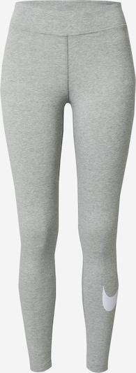 Nike Sportswear Legíny - sivá melírovaná / biela, Produkt