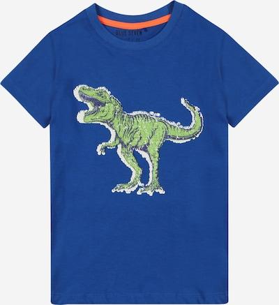 BLUE SEVEN T-Shirt in navy / royalblau / hellgrün / weiß, Produktansicht
