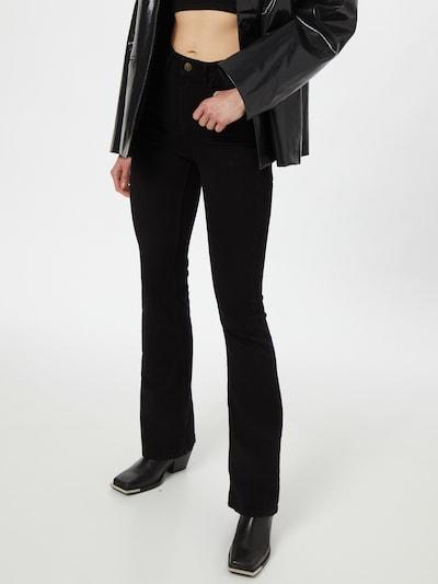 Džinsai 'PEGGY' iš PIECES, spalva – juoda, Modelio vaizdas