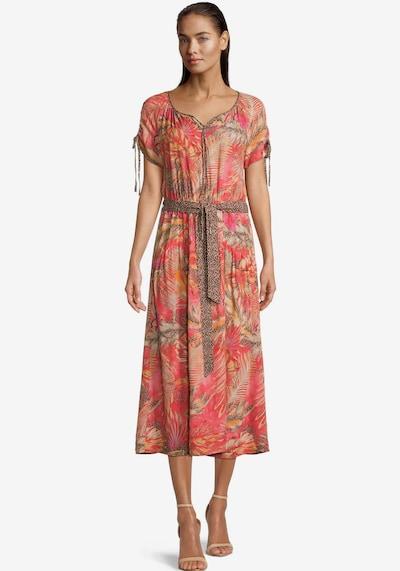 Betty Barclay Kleid in braun / gelb / pink, Modelansicht