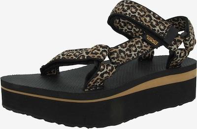 TEVA Sandale in beige / braun / schoko / schwarz, Produktansicht