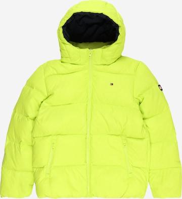 TOMMY HILFIGER Prechodná bunda - Žltá