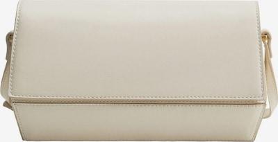 MANGO Чанта за през рамо тип преметка 'Querala' в бял меланж, Преглед на продукта