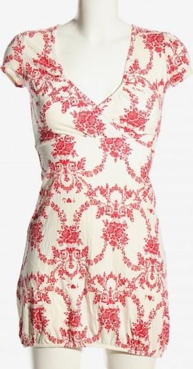Blutsschwester Longshirt in XS in rot / weiß, Produktansicht