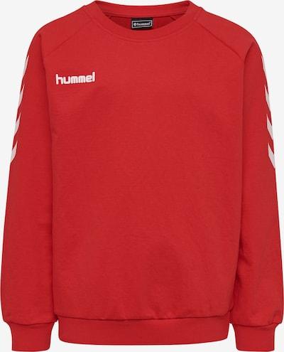 Hummel Sportief sweatshirt in de kleur Rood / Wit, Productweergave