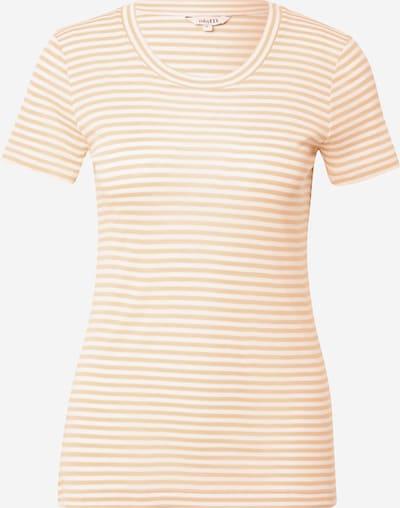 Tricou 'Samira' mbym pe bej / alb, Vizualizare produs