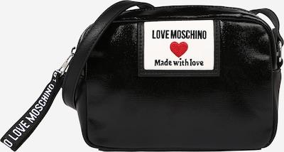 Love Moschino Axelremsväska i röd / svart / vit, Produktvy