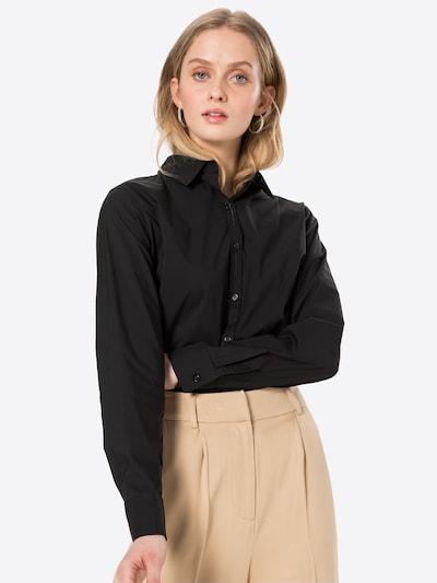 Neo Noir Bluse 'Margit' in schwarz, Modelansicht