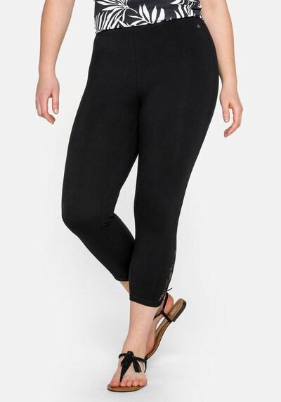 SHEEGO Leggings in de kleur Zwart, Modelweergave