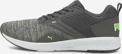 PUMA Chaussure de course 'Comet' en gris / vert clair, Vue avec produit