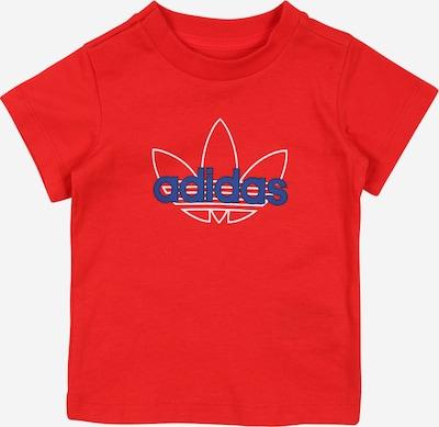 ADIDAS ORIGINALS Camiseta en azul / rojo / blanco, Vista del producto