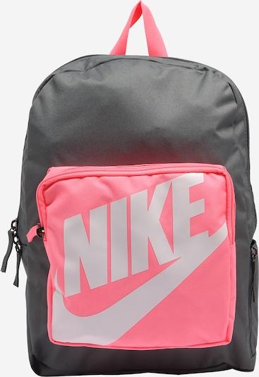 Zaino Nike Sportswear di colore grigio scuro / rosa neon / bianco, Visualizzazione prodotti