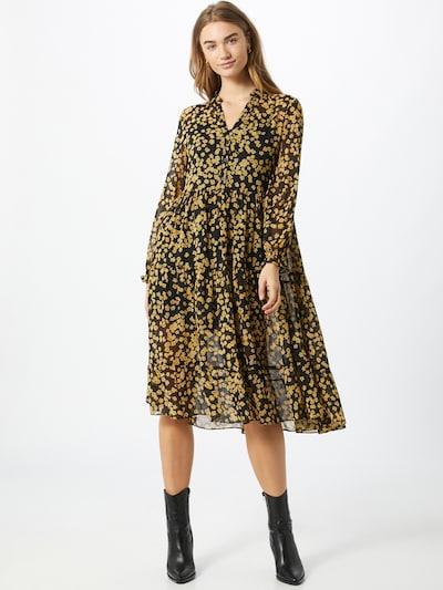 Tommy Jeans Košeľové šaty - žltá / čierna, Model/-ka