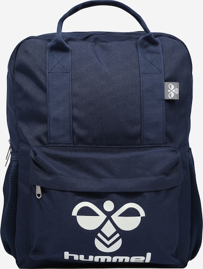 Hummel Rugzak in de kleur Donkerblauw / Wit, Productweergave