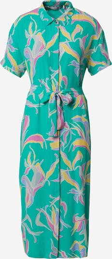 NÜMPH Рокля тип риза 'CHANA' в сиво / нефритено зелено / люляк / оранжево / розово, Преглед на продукта