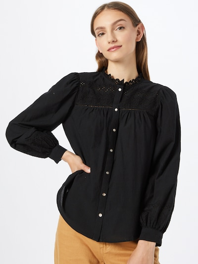 VERO MODA Bluse 'Amy' in schwarz, Modelansicht