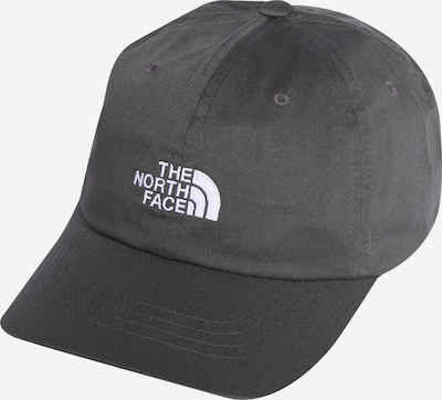 THE NORTH FACE Casquette de sport 'THE NORM' en anthracite / blanc, Vue avec produit
