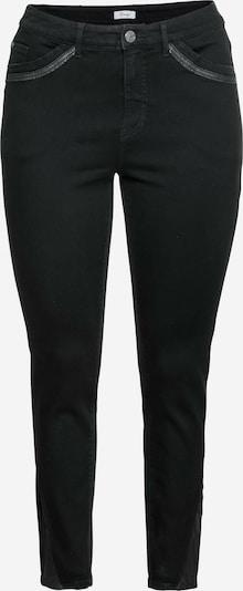 SHEEGO Jeans in black denim, Produktansicht