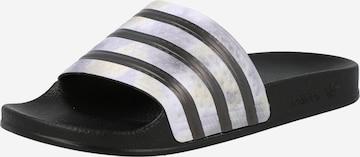 ADIDAS ORIGINALS Pantolette 'Adilette' i svart