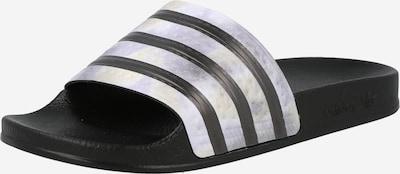 ADIDAS ORIGINALS Pantolette 'Adilette' in helllila / schwarz, Produktansicht