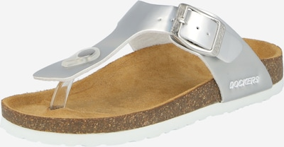 Sandale Dockers by Gerli pe argintiu, Vizualizare produs