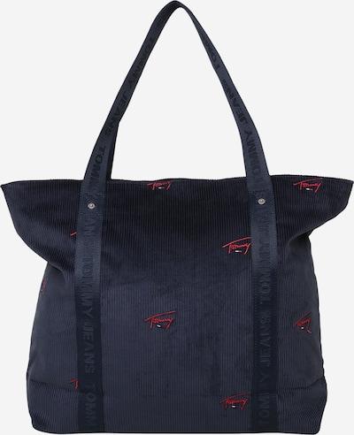 Tommy Jeans Shopper in dunkelblau / rot, Produktansicht