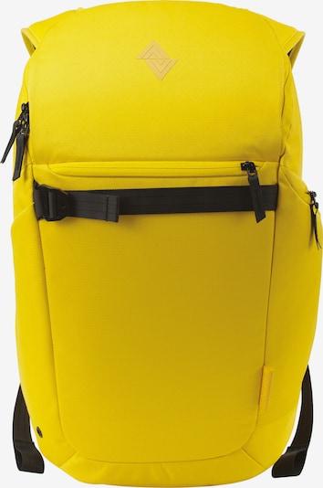 NitroBags Rucksack 'Nikuro' in limone / schwarz, Produktansicht