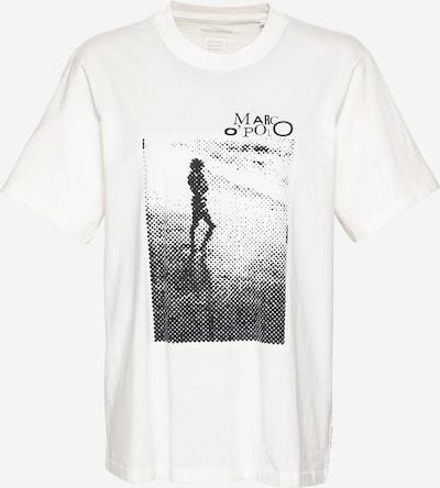 Marc O'Polo Тениска в черно / бяло, Преглед на продукта