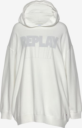REPLAY Sweatshirt in White, Item view