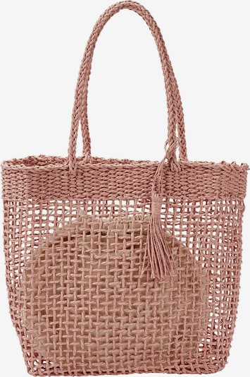 HALLHUBER Korbtasche in rosé, Produktansicht