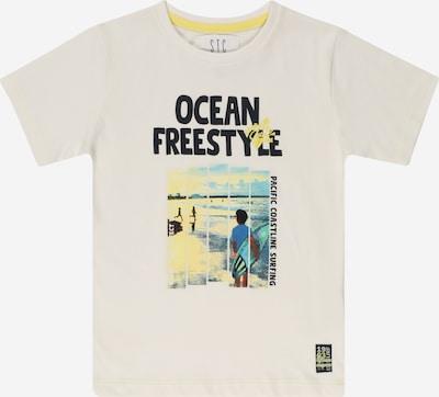 STACCATO T-Shirt in mischfarben / weiß, Produktansicht