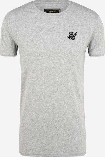 SikSilk Shirt in graumeliert, Produktansicht