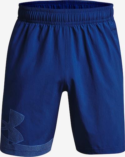 UNDER ARMOUR Sporthose 'Woven' in blau, Produktansicht