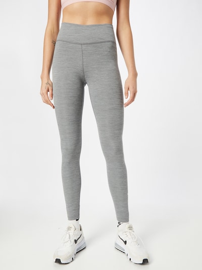 NIKE Workout Pants in Grey, View model