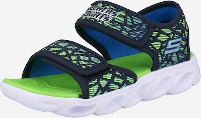 SKECHERS Otevřená obuv 'HYPNO-SPLASH - SUN SONIC' - námořnická modř / nefritová, Produkt