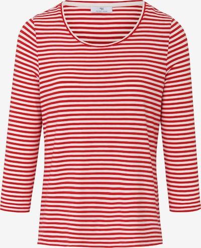 Peter Hahn Shirt in de kleur Rood / Wit, Productweergave