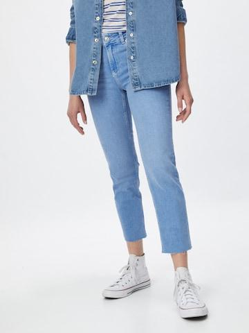 PIECES Jeans i blå