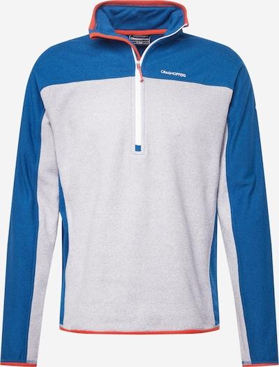 CRAGHOPPERS Sweat de sport 'Galway' en bleu / gris clair, Vue avec produit