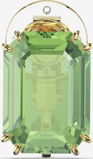 Swarovski Ohrschmuck in gold / grün, Produktansicht